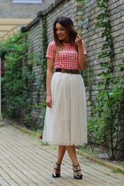 choiescom t-shirt - chicnova skirt - mart ofchina sandals