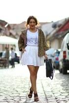 Sheinsidecom jacket - Jessica Buurman heels