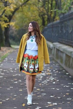 Sheinsidecom coat - choiescom skirt