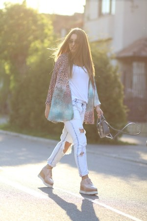 Zara jeans - choiescom bag - Cluse watch
