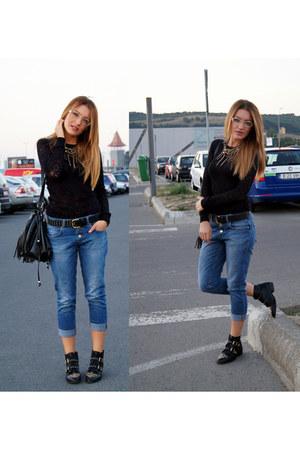 Zara blouse - Stradivarius boots
