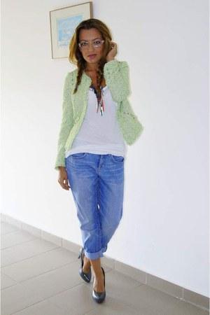 Zara blazer - H&M jeans