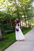 Zara dress - Zara bag - Topshop hair accessory