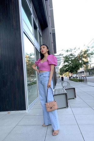 Zara jeans - Mango bag - Zara top