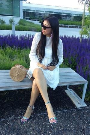 Topshop bag - Zara dress - Call it Spring sandals