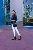 Mango jacket - Zara shoes - LOB jeans - Zara bag