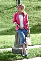 Zara blazer - vintage jeans - Forever 21 heels