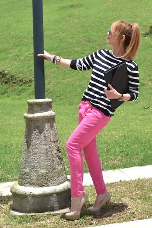 Zara jeans - Bershka bag