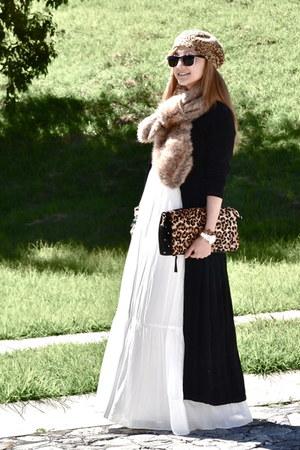 Zara dress - H&M scarf - Stradivarius bag