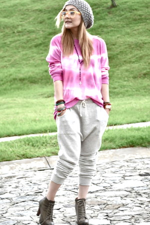 Zara sweater - Forever 21 shoes - pull&bear pants