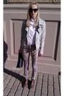Dark-brown-office-boots-white-h-m-shirt-black-lindex-sunglasses