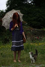 Vintage-dress-ebay-necklace-thrifted-cardigan-schuh-shoes-thrifted-acces