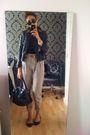 Beige-topshop-pants-black-steve-madden-boots-black-vintage-top-black-ray-b