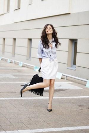 Massimo Dutti heels - Mango skirt