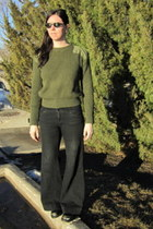 Old Navy jeans - marines sweater thrifted vintage sweater