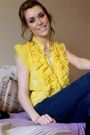 Yellow-blouse