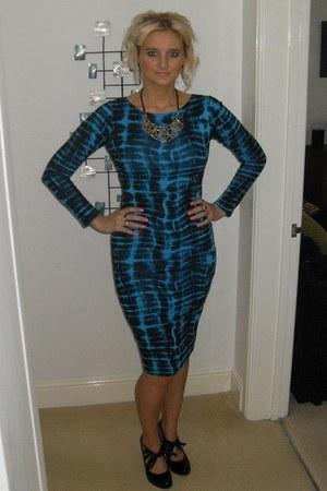 Fashion Union dress - Carvella heels