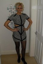 Missguided dress - Carvella heels