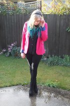 Factorie blazer - JayJays jeans - thrifted shirt - Dotti heels