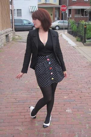 modcloth blazer - JAM skirt - modcloth vest