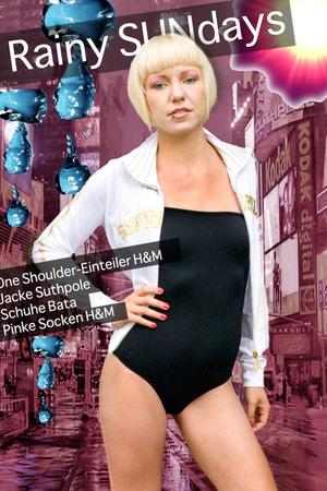 H&M swimwear - southpole jacket