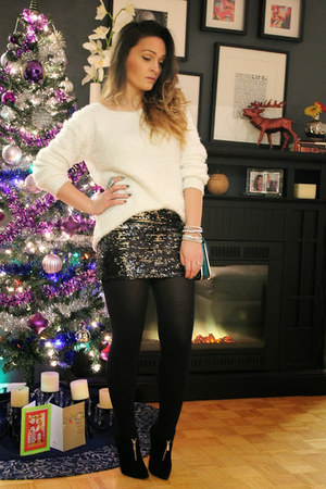 Forever 21 skirt - H&M sweater