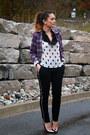 H-m-blouse-forever-21-pants-steve-madden-heels