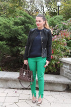 Zara jacket - joe fresh style pants - Steve Madden heels