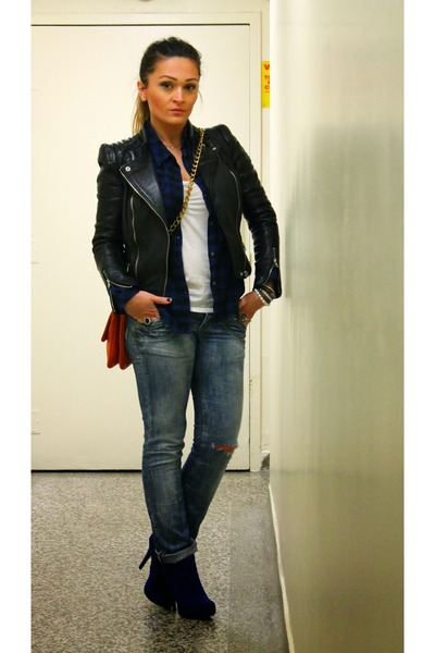 Zara jacket - Conto Bene jeans
