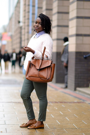 teal skinny jeans Dorothy Perkins jeans - botton down ben sherman shirt