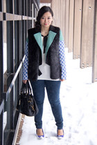 aquamarine Peter Pilotto For Target blazer