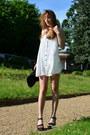 White-sheinside-dress-silver-carré-de-soie-allée-du-foulard-scarf