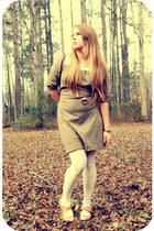 modcloth heels - Old Navy dress - Forever21 necklace