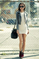 Alexander Wang bag - Prada sunglasses - ASH sneakers - asos earrings