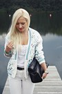 White-jacket-black-zara-bag-white-h-m-pants