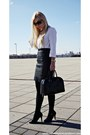 Black-shoes-black-mango-sunglasses-white-zara-blouse-black-h-m-skirt