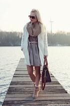 camel shoes - camel Only dress - brown Michael Kors bag
