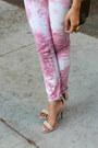 Bubble-gum-rich-skinny-jeans-dark-brown-messenger-zara-bag
