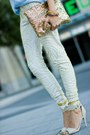 H-m-shirt-sequins-clutch-society-of-chic-bag-zooshoo-heels