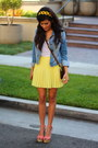 Salmon-love-shopping-miami-shoes-navy-denim-jean-forever-21-jacket