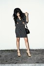 Black-polka-dot-love-dress-tan-shoedazzle-heels