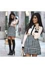 Forever-21-shoes-target-shirt-halogen-bag-nordstrom-socks-target-skirt