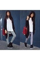 Forever21 leggings - Gypsy05 shirt - just fab bag