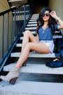 Gold-necklace-forever21-necklace-beige-forever21-boots
