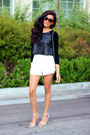 Black-zooshoo-bag-white-high-waisted-zooshoo-shorts-zooshoo-sunglasses