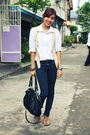 Black-jeans-black-prada-purse-white-renee-salud-blouse-beige-janylin-shoes
