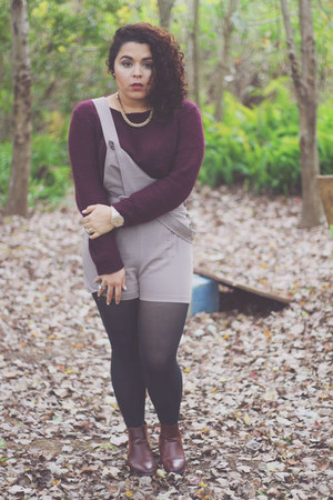 asos jumper - Urban Outfitters boots - hm sweater