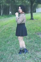 H&M boots - cotton on dress