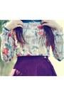 Floral-primark-blouse-boater-primark-hat
