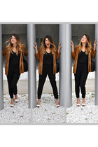 Zara shoes - vintage jacket - Zara sweater - Marella bag